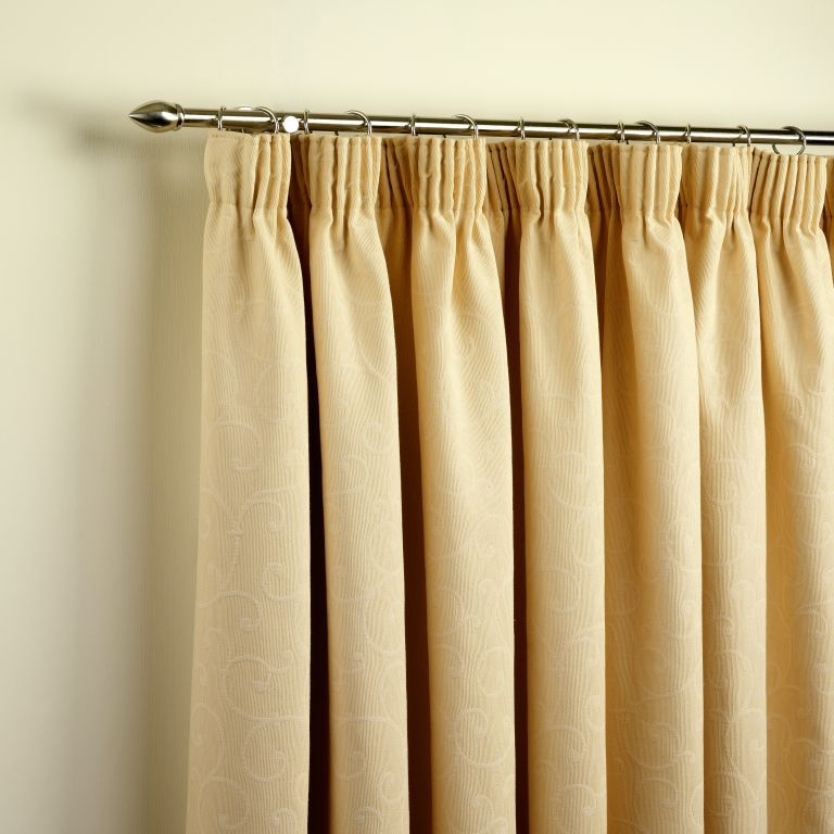 High Quality Pencil Pleat Curtains